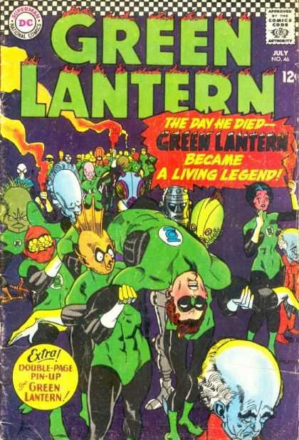 Green Lantern Vol 2 46