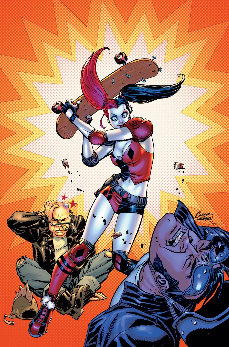 Harley Quinn Vol 2 15 Textless Conner Variant.jpg