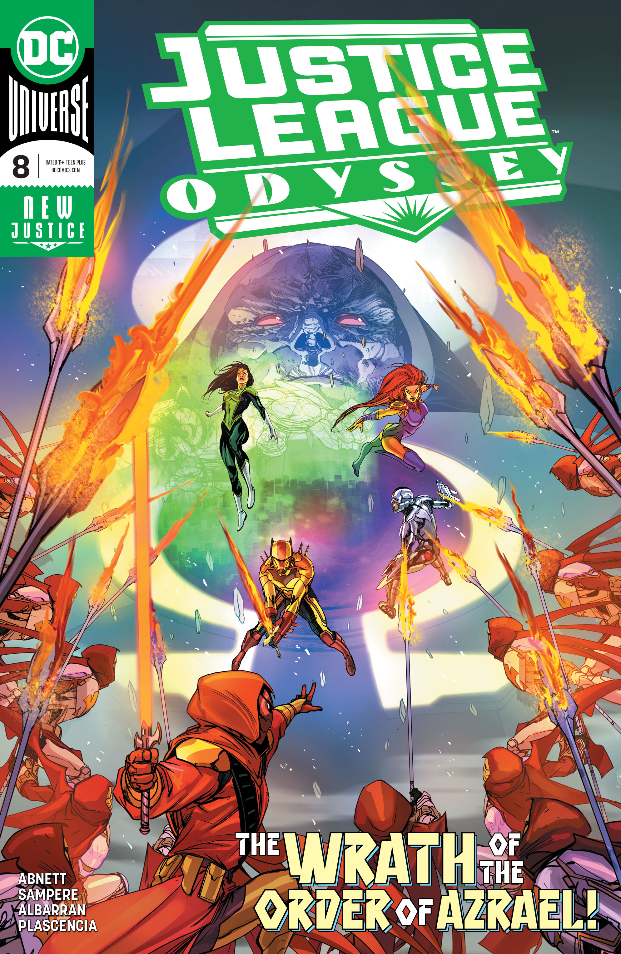 Justice League Odyssey Vol 1 8