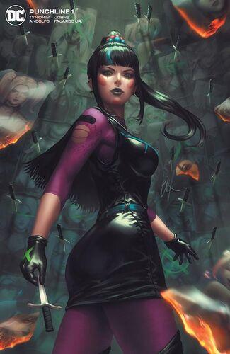 Exclusive Unknown Comic Books Ejikure Minimal Trade Dress Variant