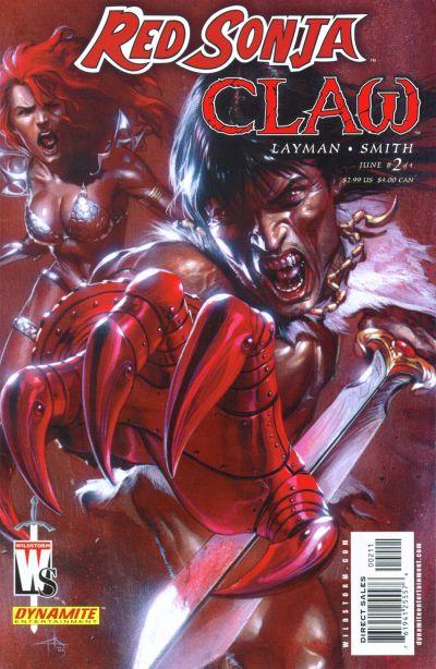 Red Sonja/Claw Vol 1 2
