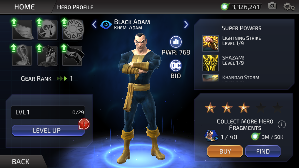 Teth-Adam (DC Legends)