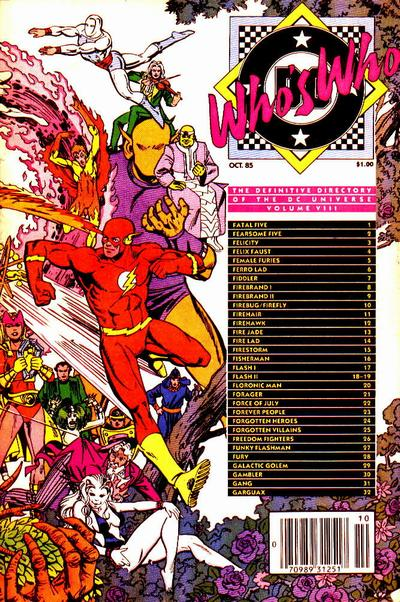 Who's Who: The Definitive Directory of the DC Universe Vol 1 8