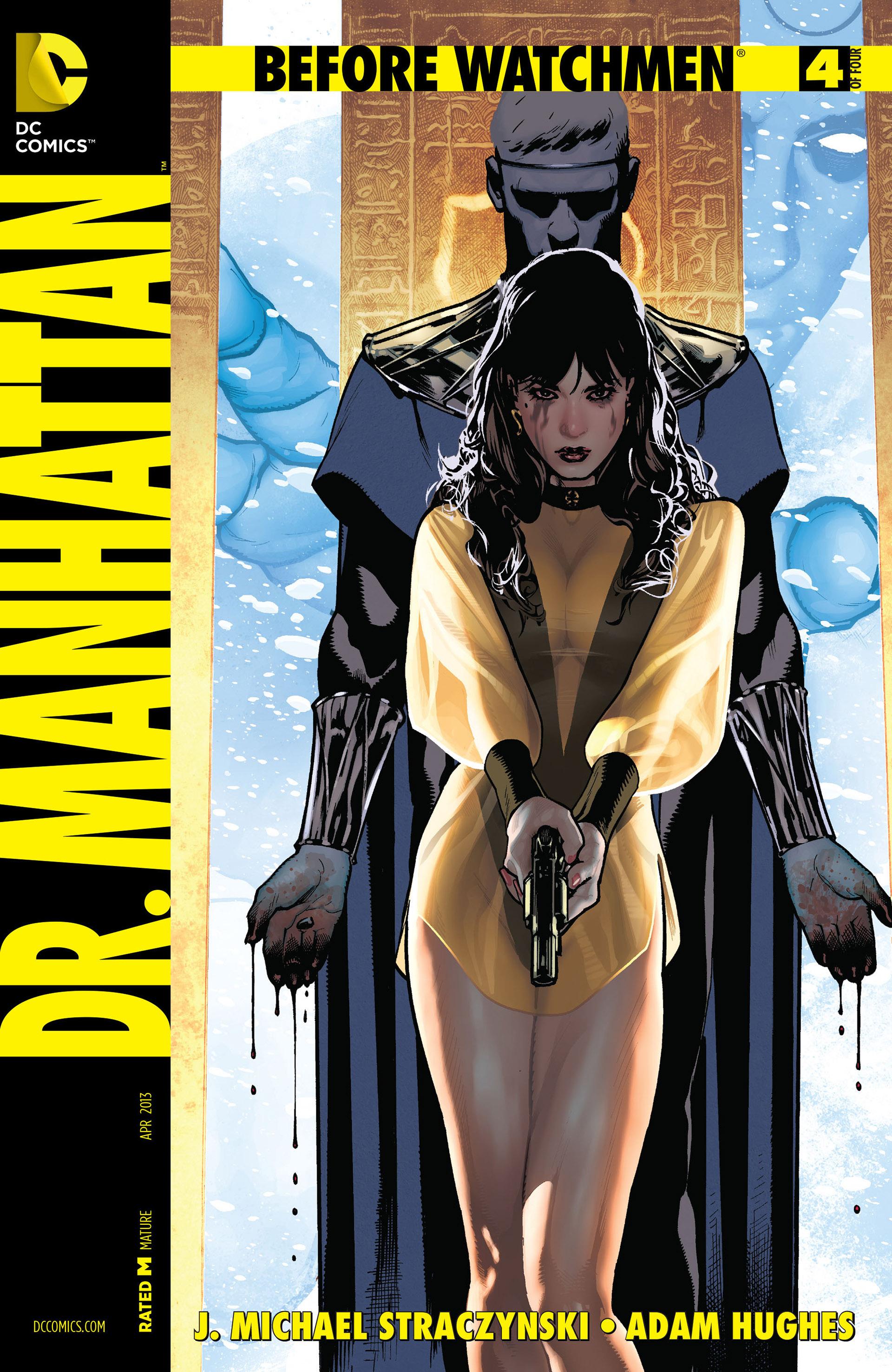 Before Watchmen: Doctor Manhattan Vol 1 4