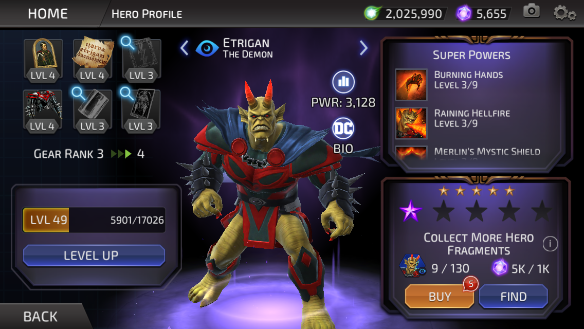 Etrigan (DC Legends)
