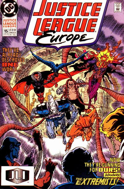 Justice League Europe Vol 1 15