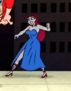 Lady Granite (Plastic Man Shorts)