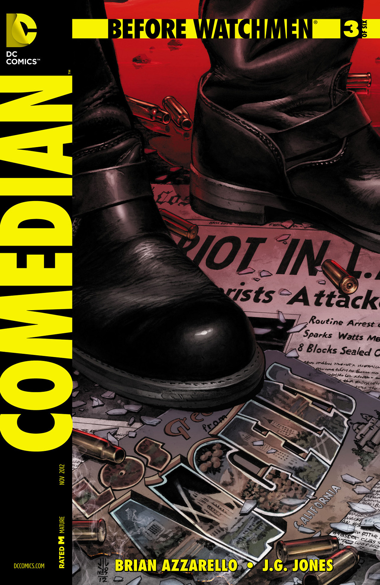 Before Watchmen: Comedian Vol 1 3