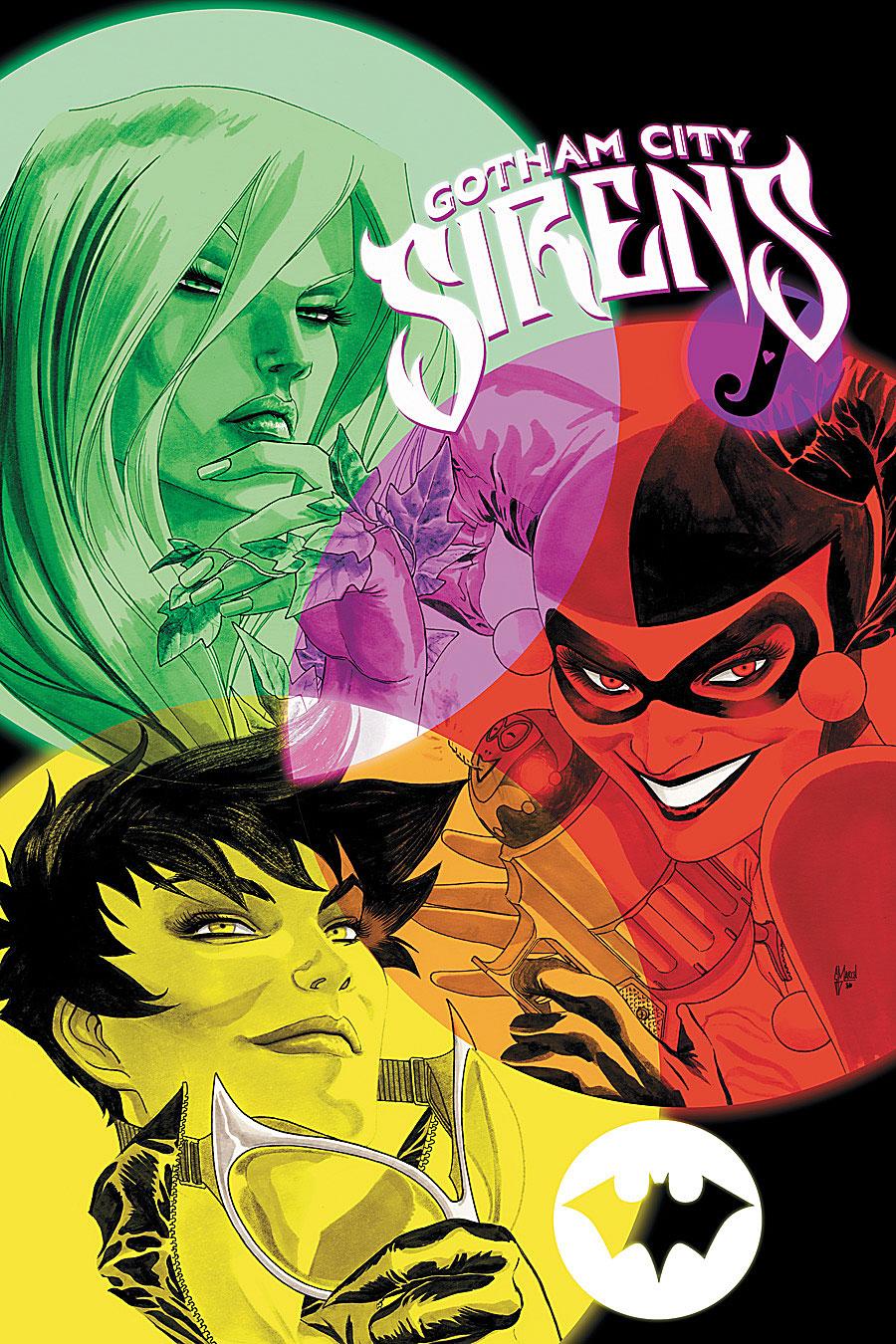 Gotham City Sirens Vol 1 14 Textless.jpg
