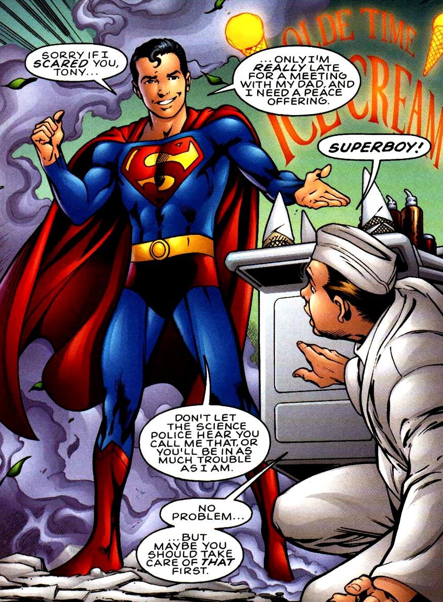 Kal-El (Superboy's Legion)