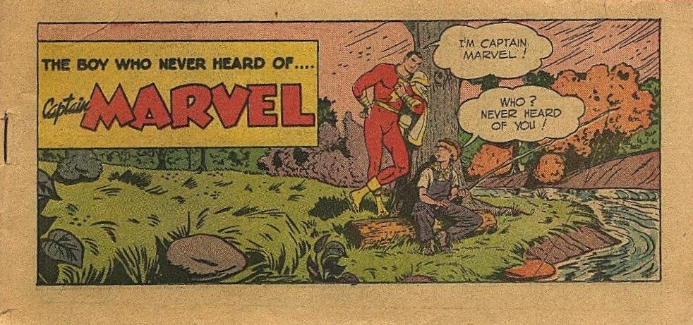 The Boy Who Never Heard of.... Captain Marvel