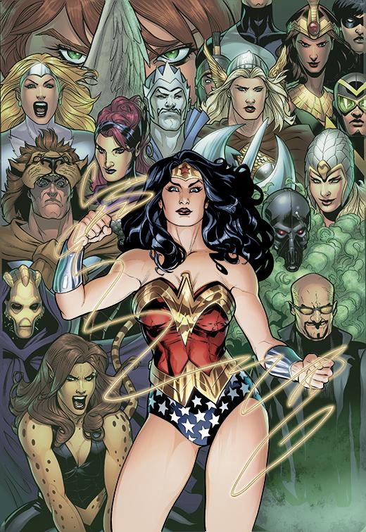 Wonder Woman Villains