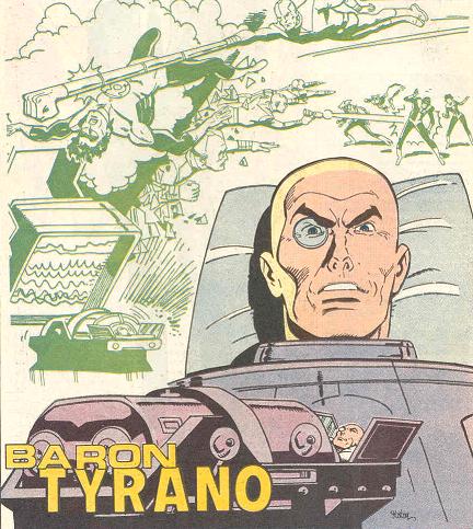 Baron Tyrano (New Earth)