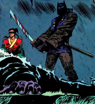 Bat-Ninja (Narrow Path)