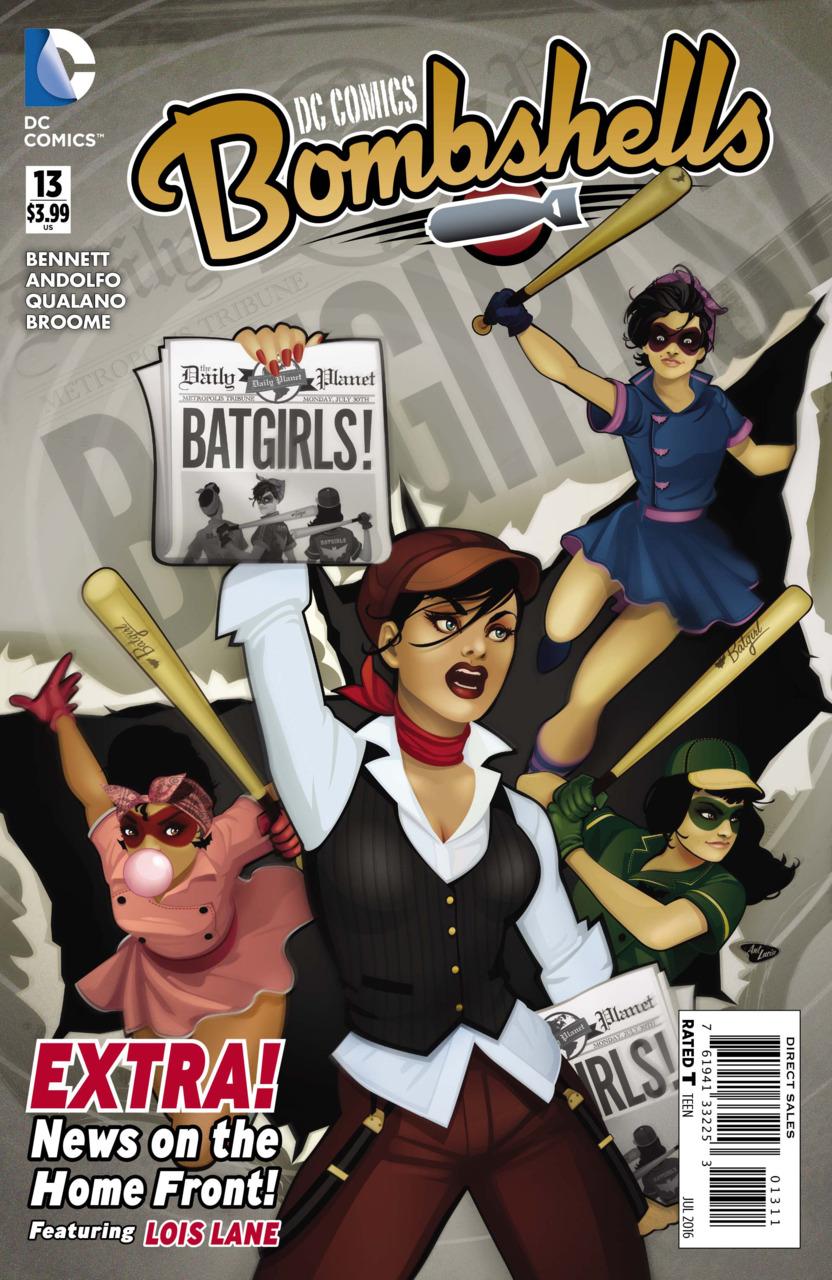 DC Comics Bombshells Vol 1 13