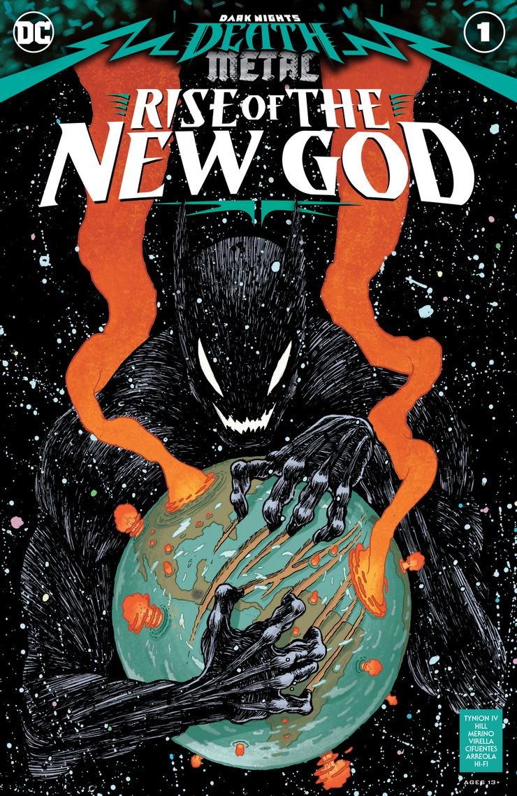 Dark Nights: Death Metal Rise of the New God Vol 1 1