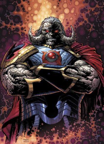 Textless Darkseid Variant