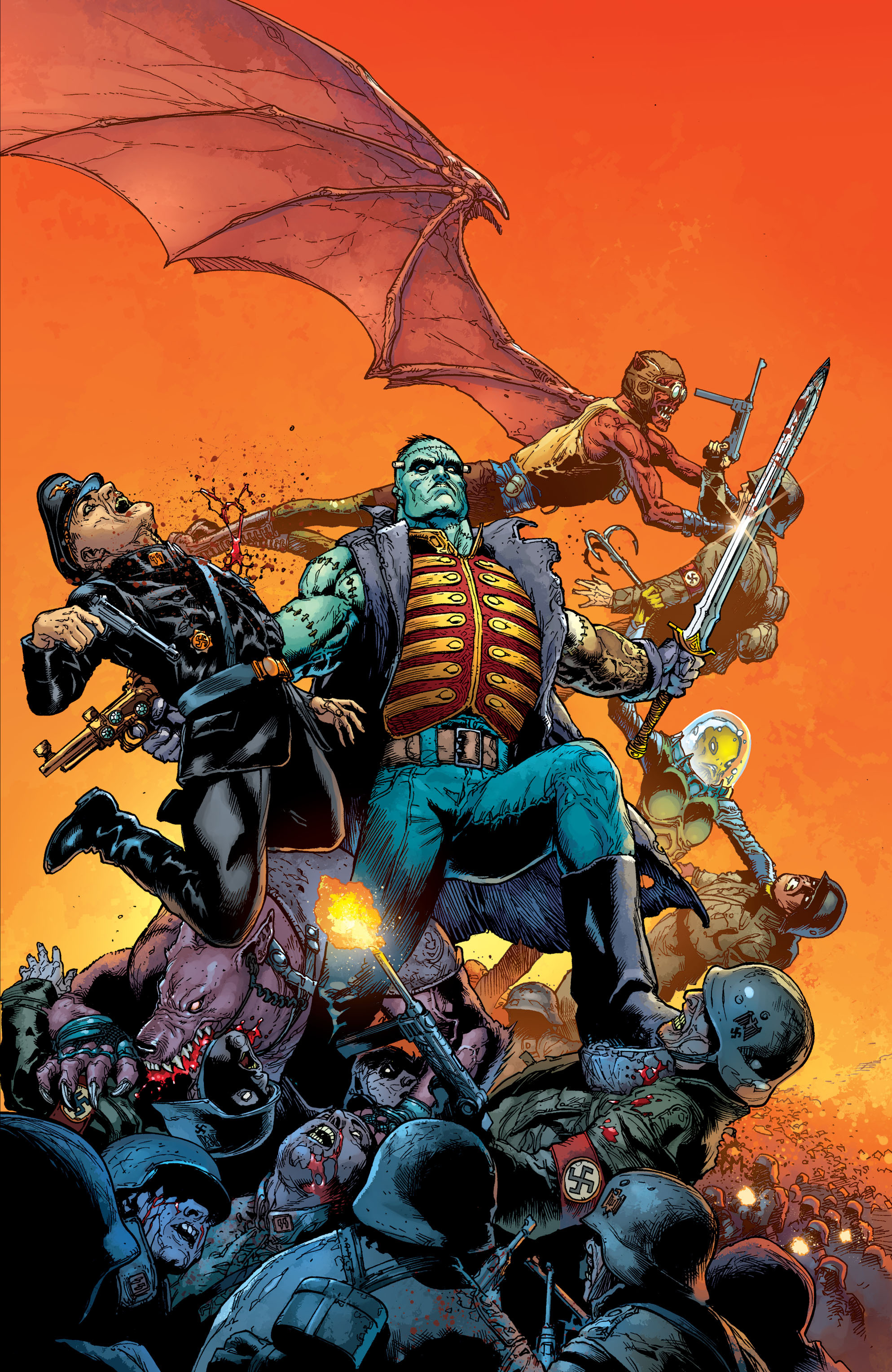 Flashpoint Frankenstein and the Creatures of the Unknown Vol 1 1 Textless Cover.jpg