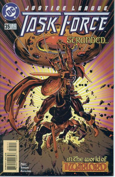 Justice League Task Force Vol 1 35
