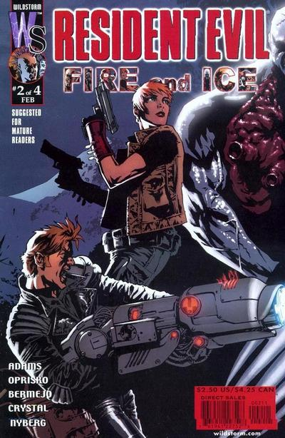 Resident Evil: Fire and Ice Vol 1 2