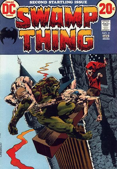 Swamp Thing Vol 1 2