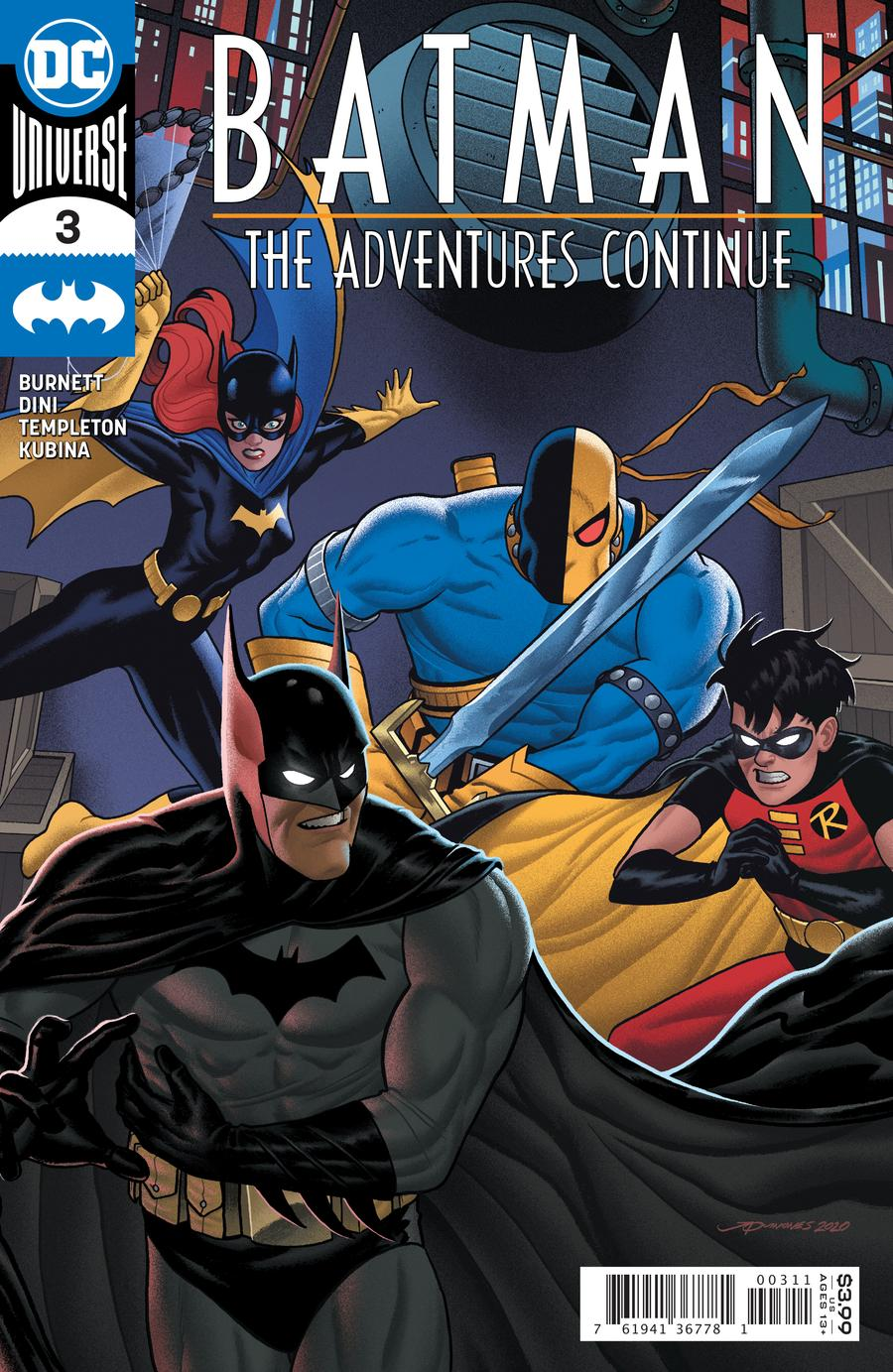Batman: The Adventures Continue Vol 1 3