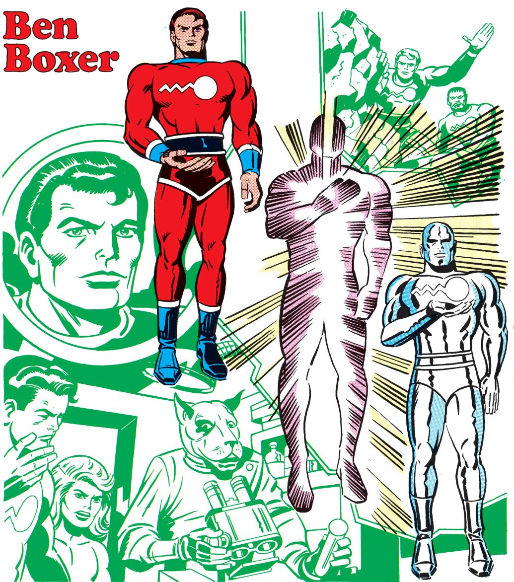 Benjamin Boxer (Earth-AD)