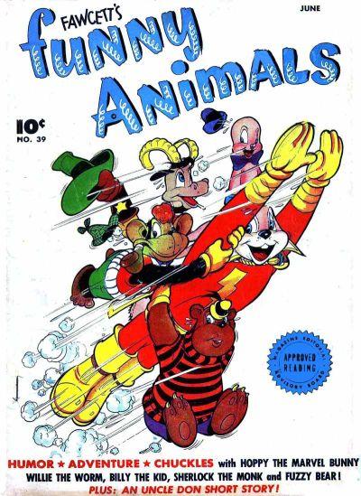 Fawcett's Funny Animals Vol 1 39