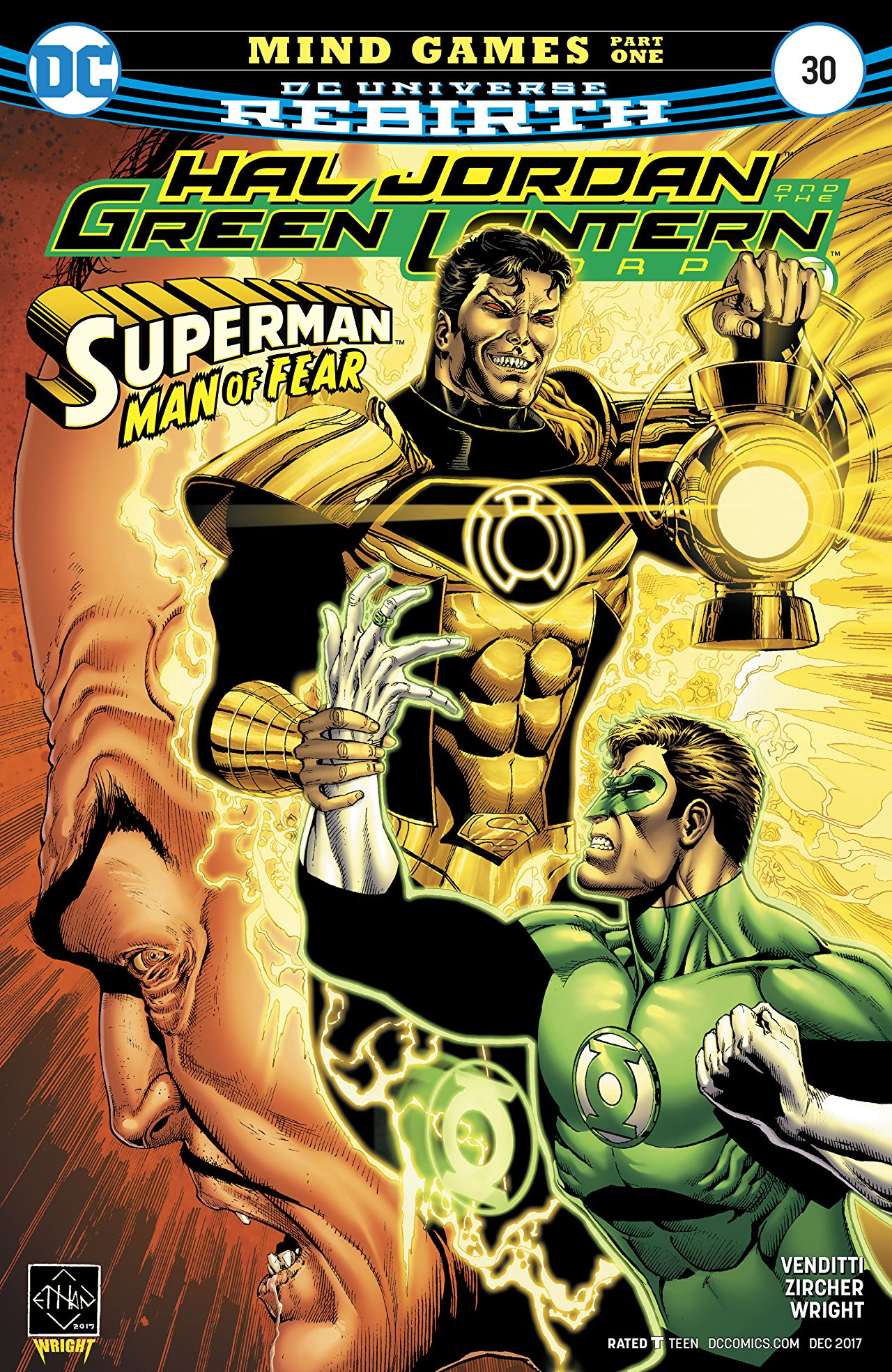 Hal Jordan and the Green Lantern Corps Vol 1 30