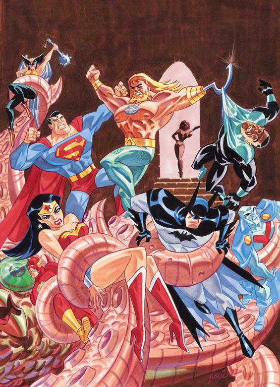 Justice League Adventures Vol 1 14 Textless.jpg