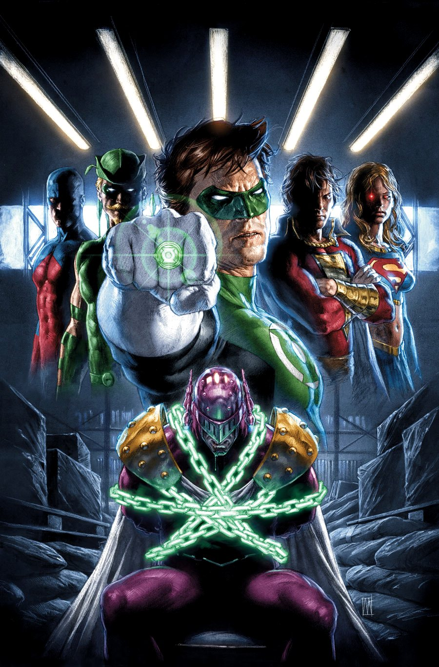Justice League Cry for Justice Vol 1 3 Textless.jpg