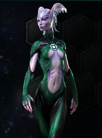 Ngila G'nrt (Green Lantern Movie)