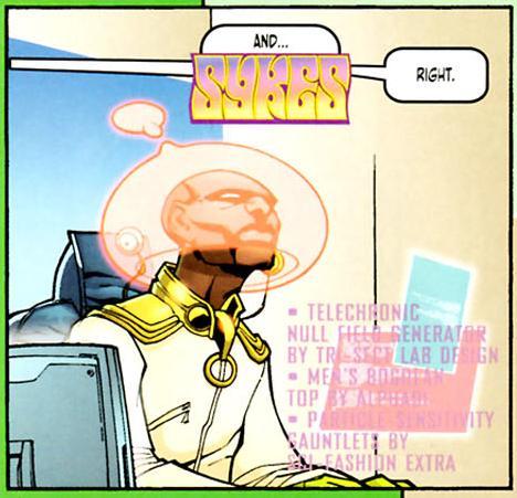 Sykes (Wildstorm Universe)