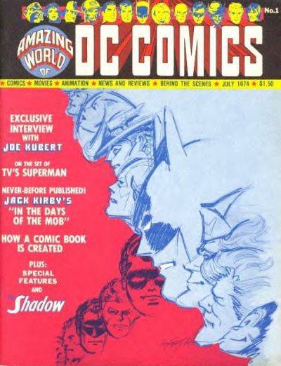 Amazing World of DC Comics Vol 1 1