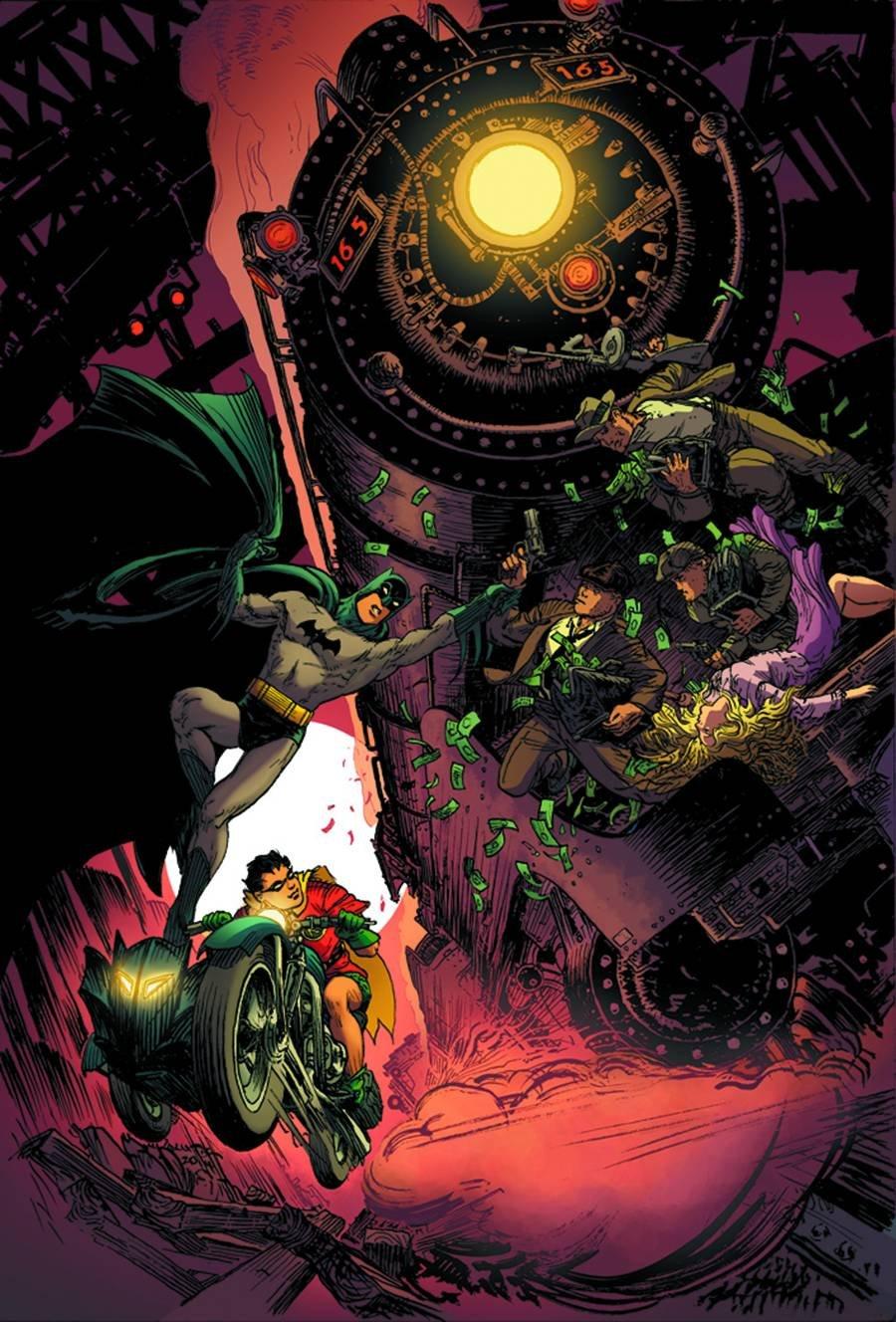 Batman and Robin Vol 2 33 Textless Batman 75th Anniversary Variant.jpg
