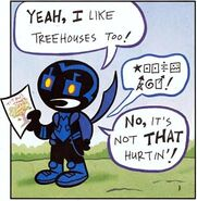 Blue Beetle Tiny Titans 001