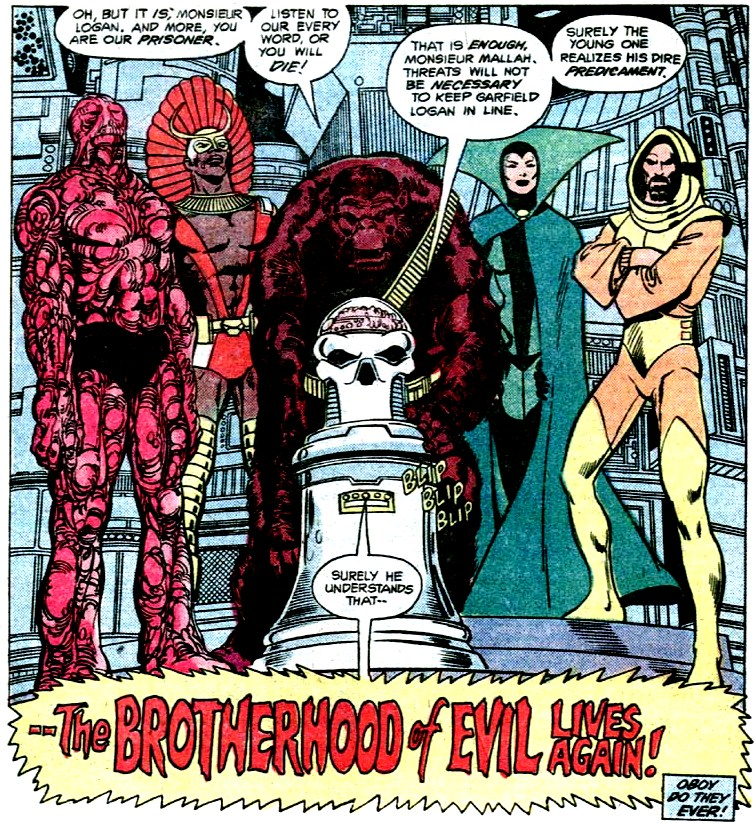 Brotherhood of Evil (New Earth)/Gallery