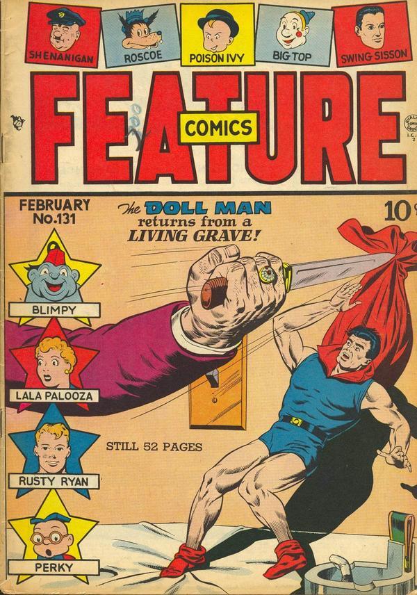 Feature Comics Vol 1 131