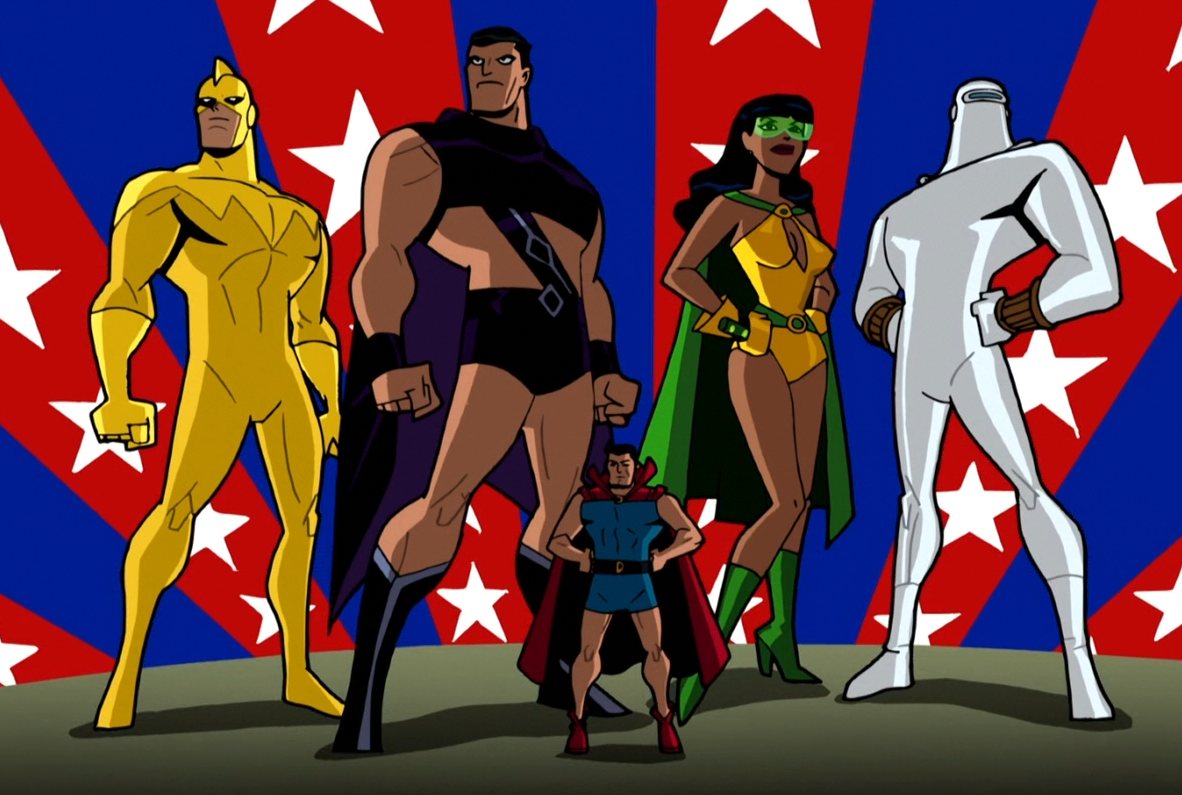 Batman: The Brave and the Bold (TV Series) Episode: Cry Freedom Fighters!