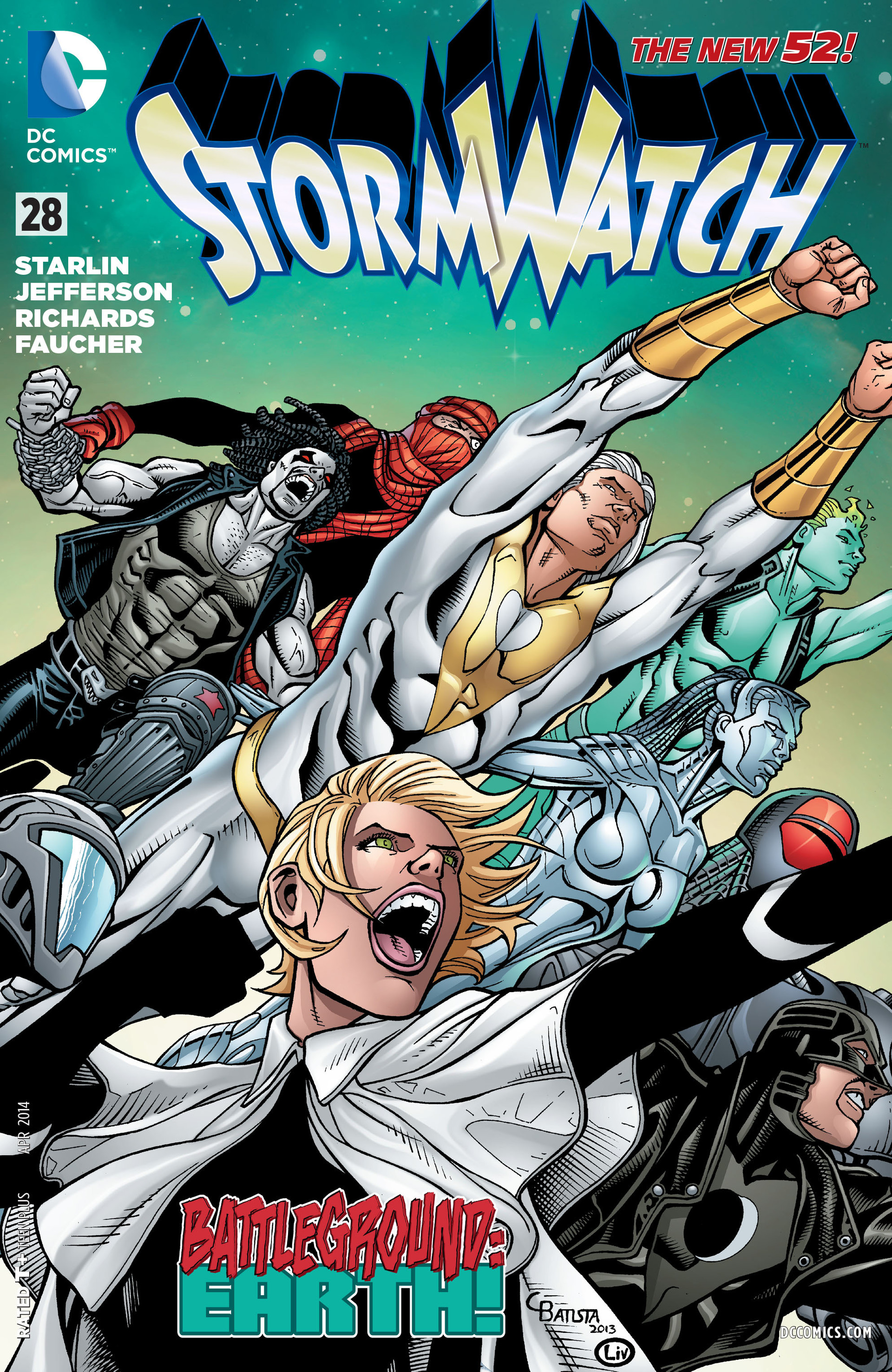 Stormwatch Vol 3 28