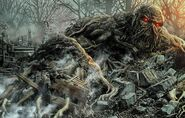 Swamp Thing Damned 001