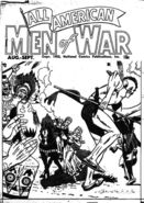 All-American Men of War Vol 1 1 Ashcan