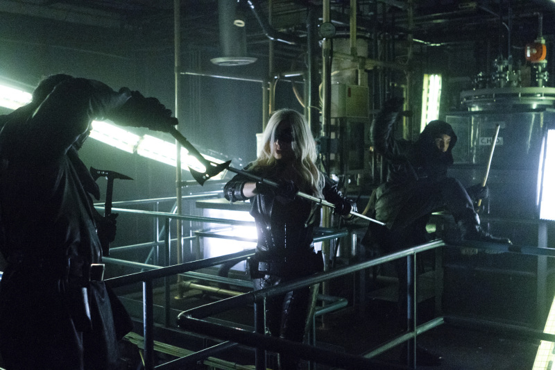 Arrow (TV Series) Episode: League of Assassins