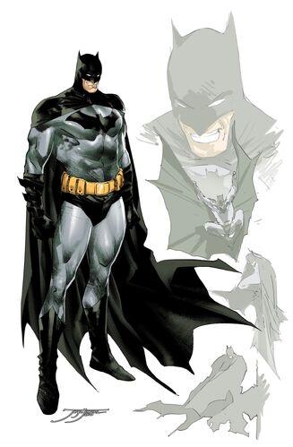 Textless 1:25 Batman Variant