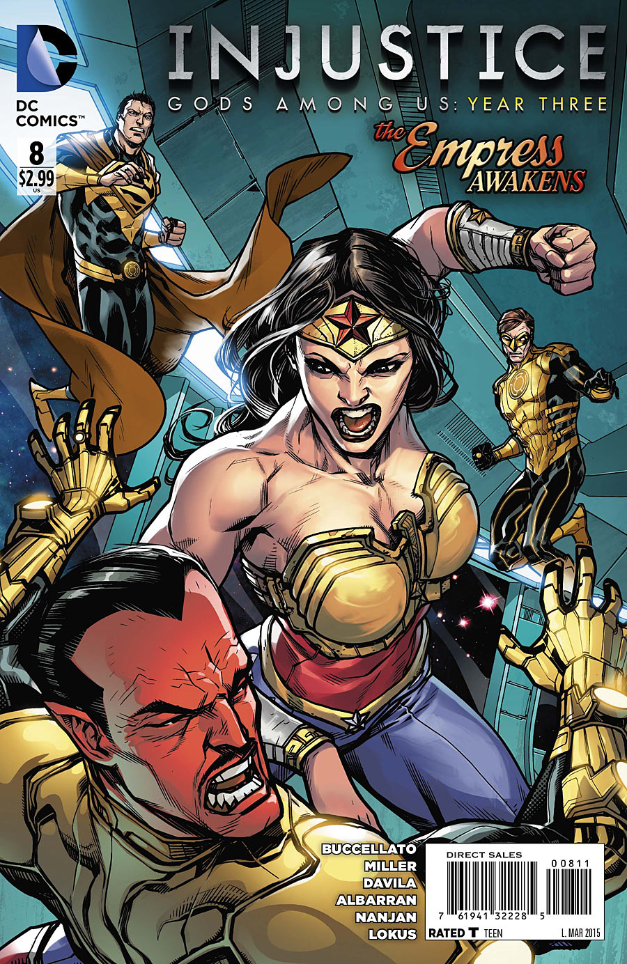 Injustice: Gods Among Us: Year Three Vol 1 8