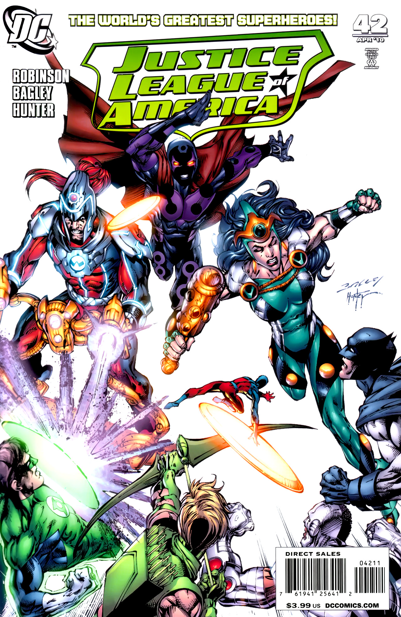 Justice League of America Vol 2 42