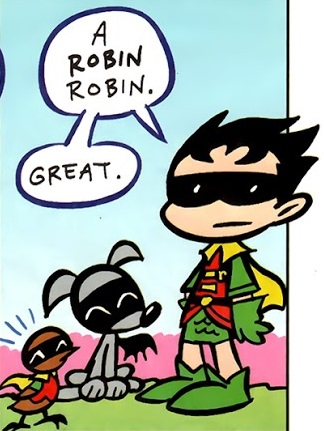 Robin Robin (Tiny Titans)