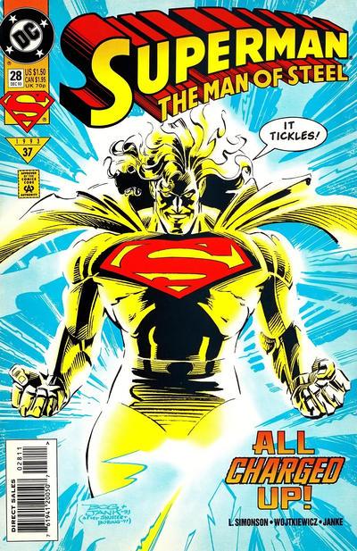 Superman: The Man of Steel Vol 1 28