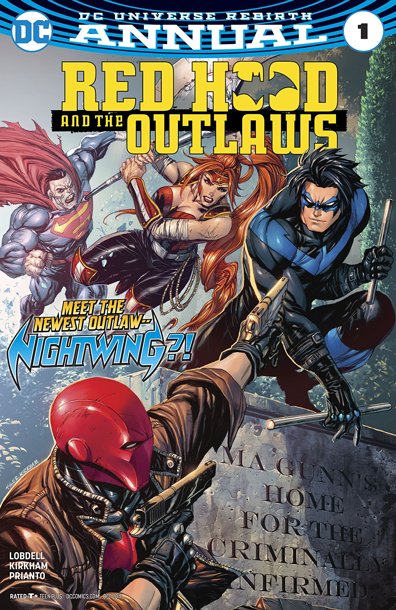 Red Hood and the Outlaws Annual Vol 2 1