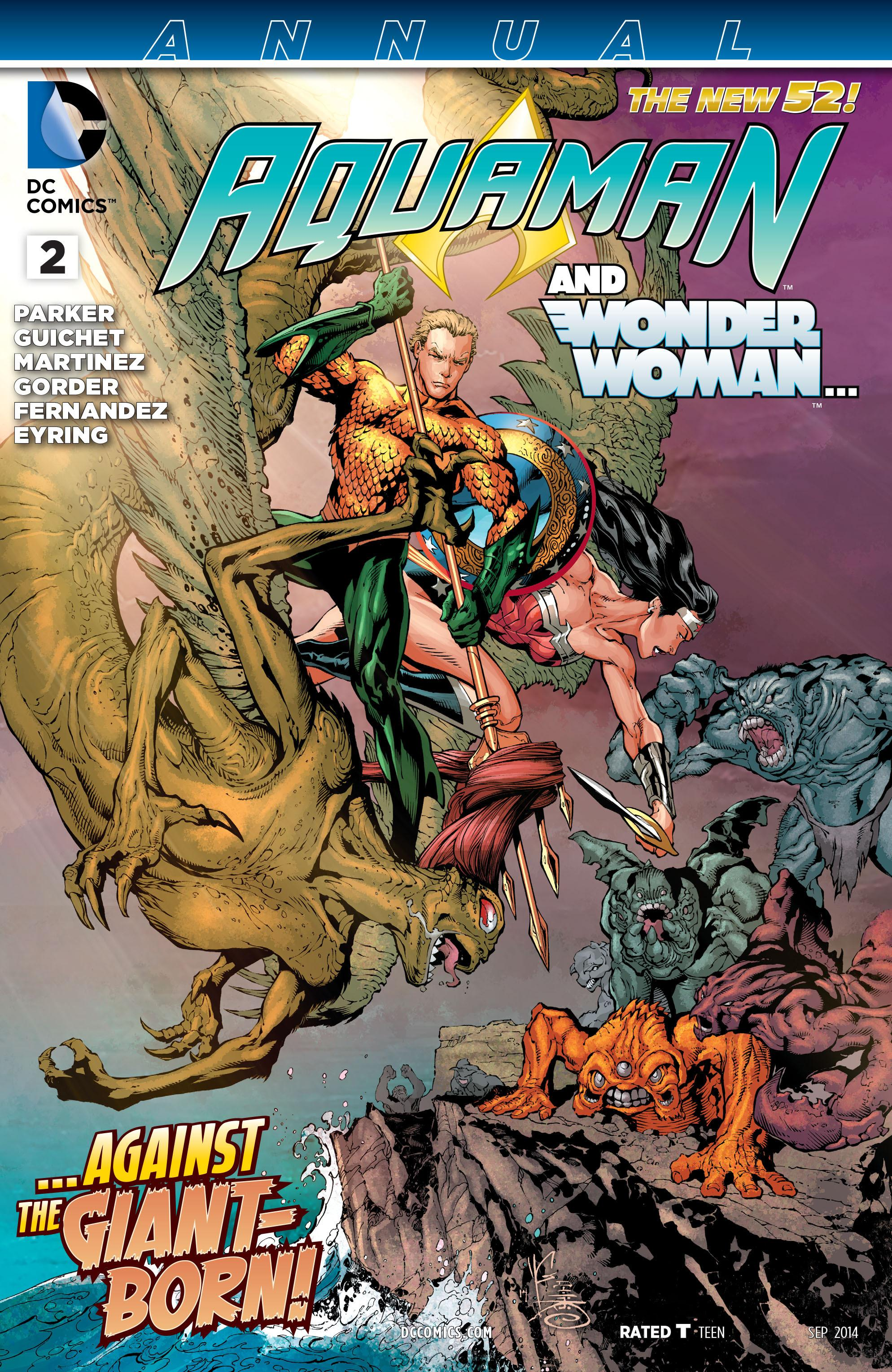 Aquaman Annual Vol 7 2